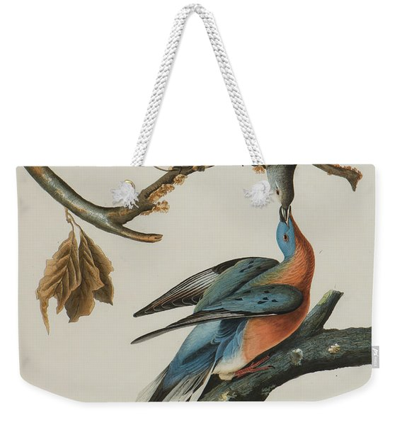 Passenger Pigeon Weekender Tote Bag
