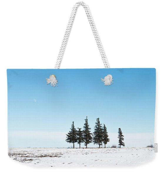 6 Pines And The Moon Weekender Tote Bag