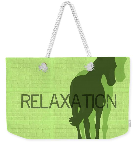Relaxation Duet Weekender Tote Bag