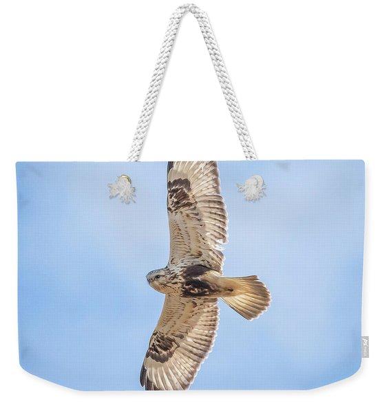 Rough-legged Hawk Weekender Tote Bag