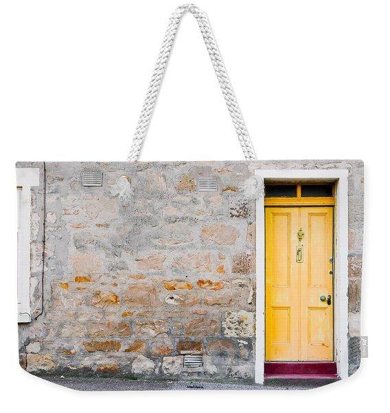 Yellow Door Weekender Tote Bag
