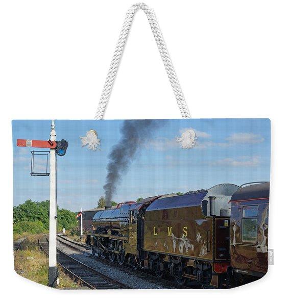 6201 Princess Elizabeth At Swanwick Station Weekender Tote Bag
