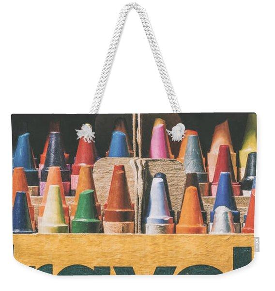 64 Colors Weekender Tote Bag