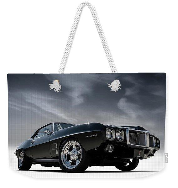 69 Pontiac Firebird Weekender Tote Bag
