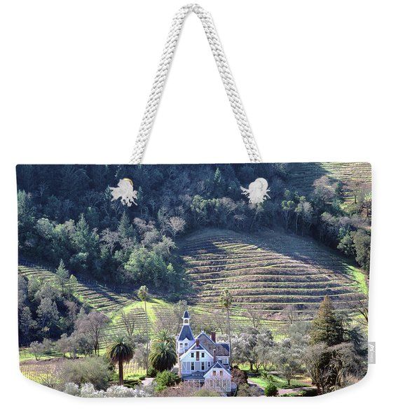 6b6312 Falcon Crest Winery Grounds Weekender Tote Bag