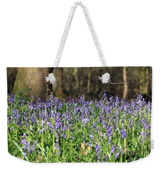 Bluebells At Banstead Wood Surrey Uk Weekender Tote Bag