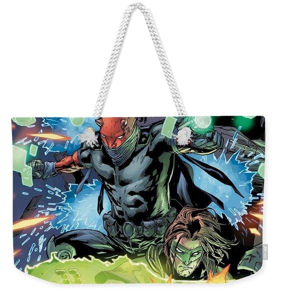 Green Lantern Weekender Tote Bag