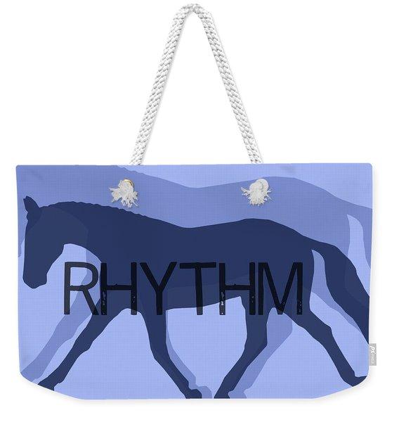 Rhythm Duet Weekender Tote Bag