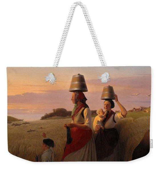 Rural Scene Weekender Tote Bag