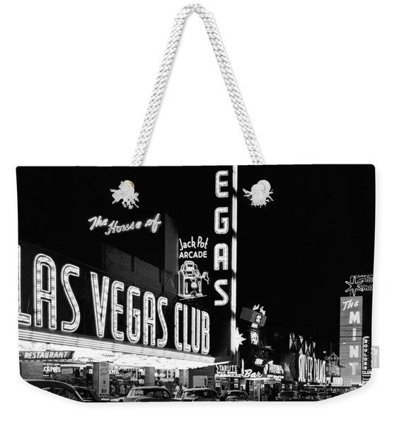 The Las Vegas Strip Weekender Tote Bag