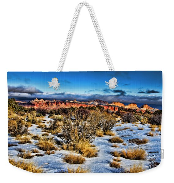 Capitol Reef National Park Weekender Tote Bag