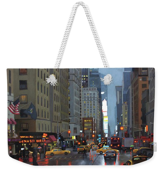 7th Avenue Weekender Tote Bag