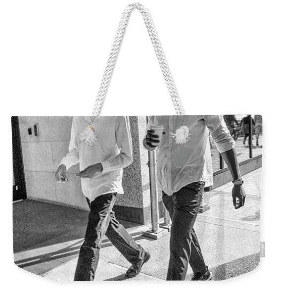 7th Aveune Manhattan. Weekender Tote Bag