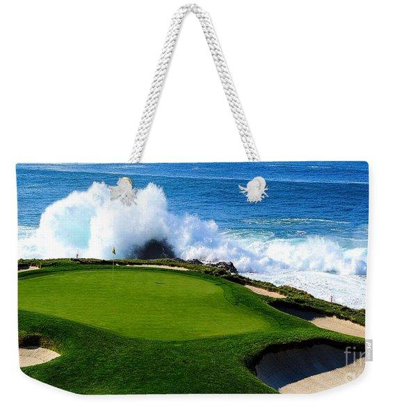 7th Hole - Pebble Beach  Weekender Tote Bag