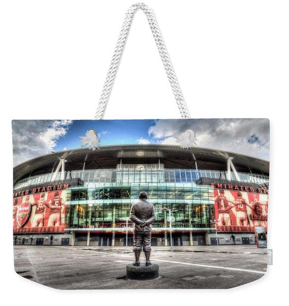 Arsenal Fc Emirates Stadium London Weekender Tote Bag