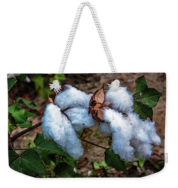 8 Bolls Of Cotton  Weekender Tote Bag