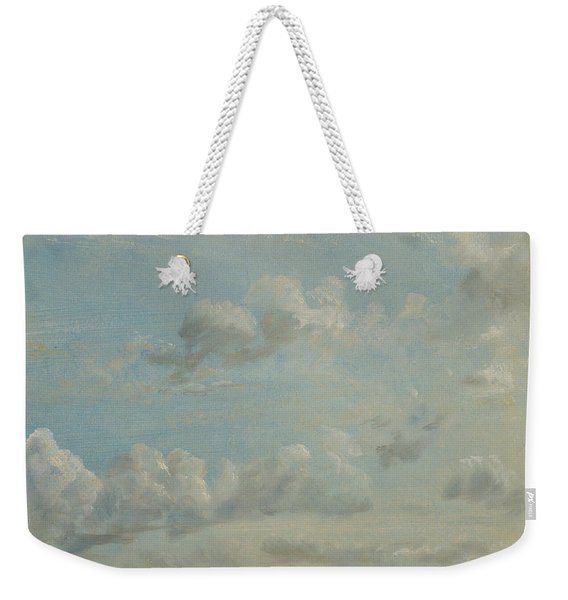 British Title Cloud Study Weekender Tote Bag