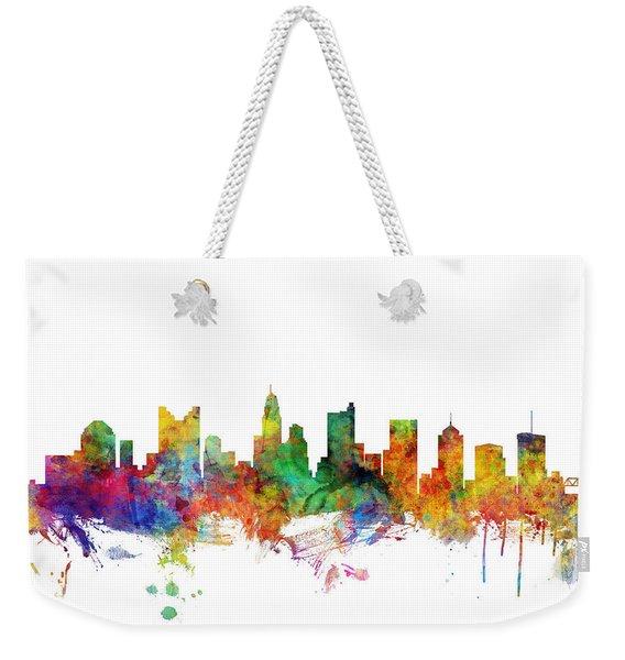 Columbus Ohio Skyline Weekender Tote Bag