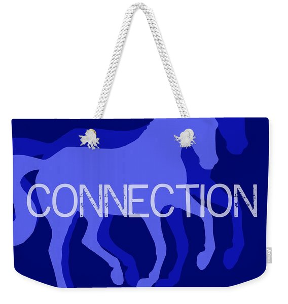 Connection Negative Weekender Tote Bag