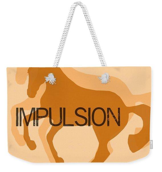 Impulsion Duet Weekender Tote Bag