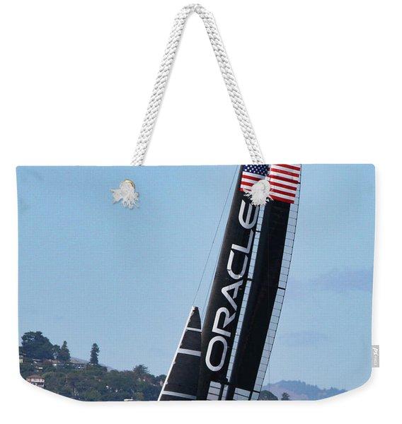 Once In San Francisco Weekender Tote Bag