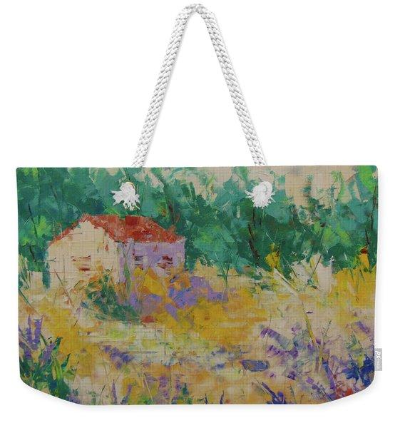 Provence Weekender Tote Bag