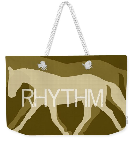 Rhythm Negative Weekender Tote Bag