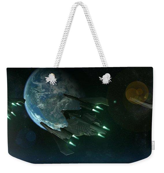 Sci Fi Weekender Tote Bag