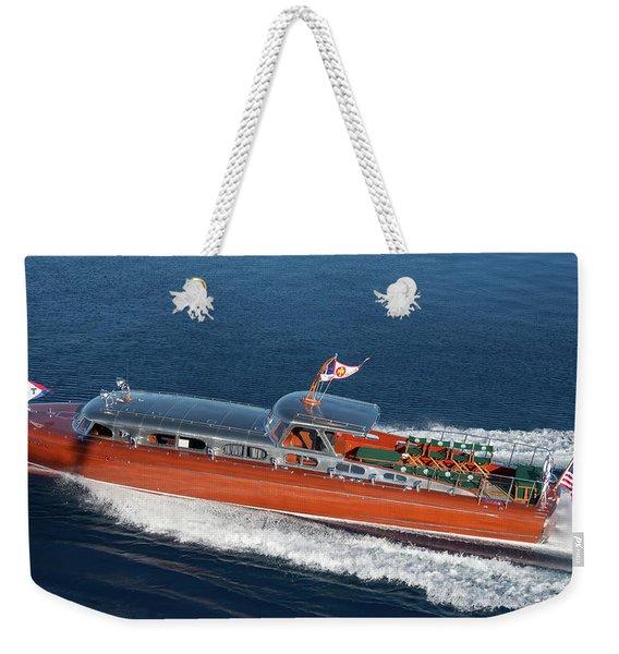 Mahogany Magic Weekender Tote Bag