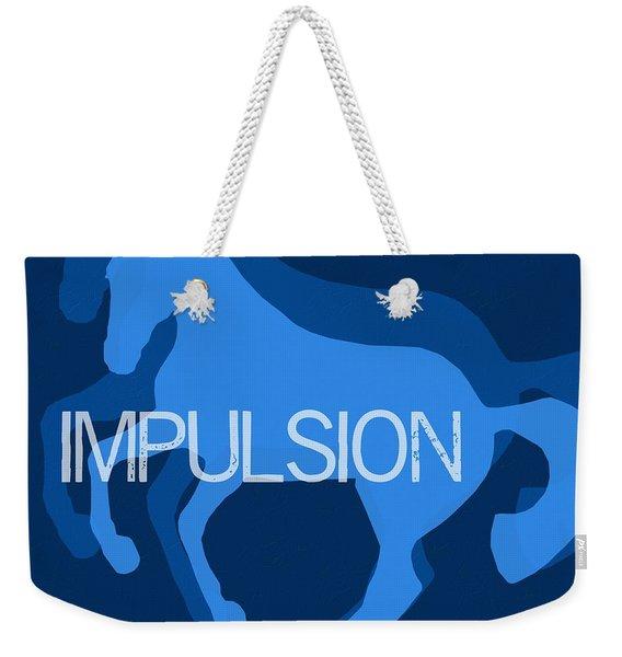 Impulsion Negative Weekender Tote Bag
