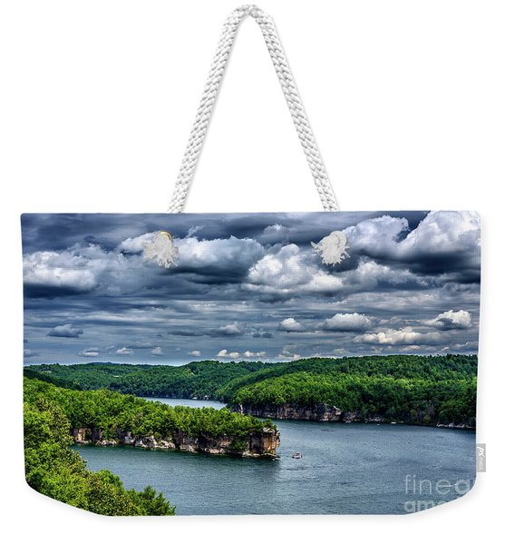 Long Point Summersville Lake Weekender Tote Bag