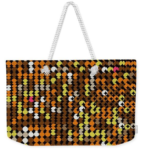 Pi Approximate Packing Of Circles Weekender Tote Bag