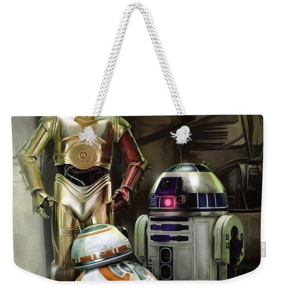 Star Wars Episode Vii - The Force Awakens 2015 Weekender Tote Bag