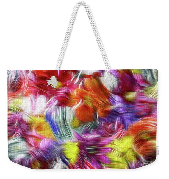 9a Abstract Expressionism Digital Painting Weekender Tote Bag