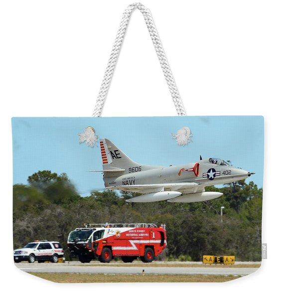 A-4 / Firetruck Weekender Tote Bag