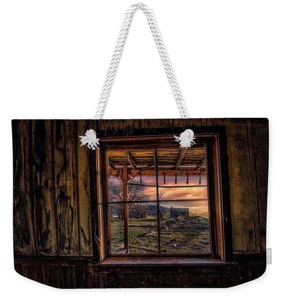 A Barn View Weekender Tote Bag