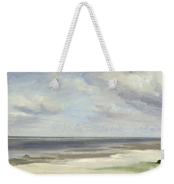 A Beach On The Baltic Sea At Laboe Weekender Tote Bag