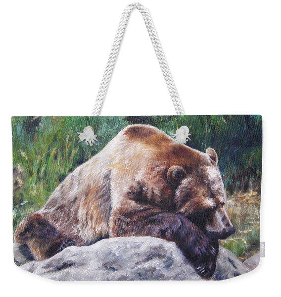 A Bear Of A Prayer Weekender Tote Bag