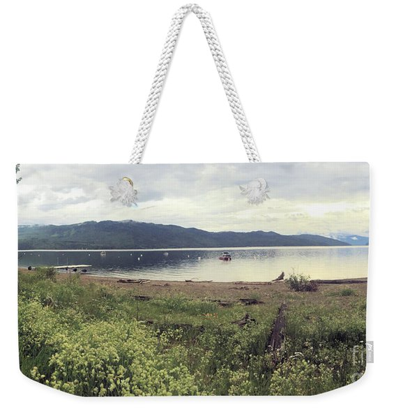 A Beautiful Cloudy Day Weekender Tote Bag
