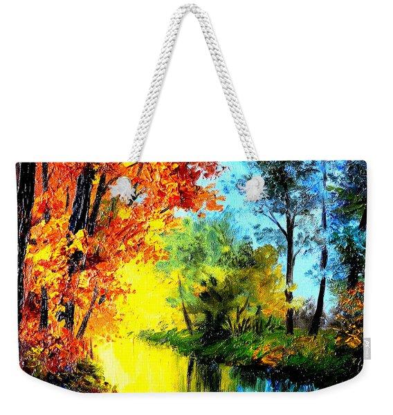 A Beautiful Day Weekender Tote Bag