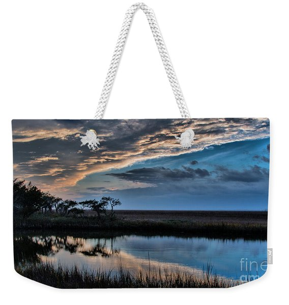 A Beautiful Evening Weekender Tote Bag