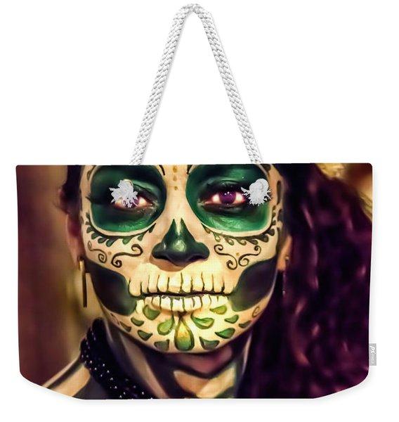 A Beautiful Face Weekender Tote Bag
