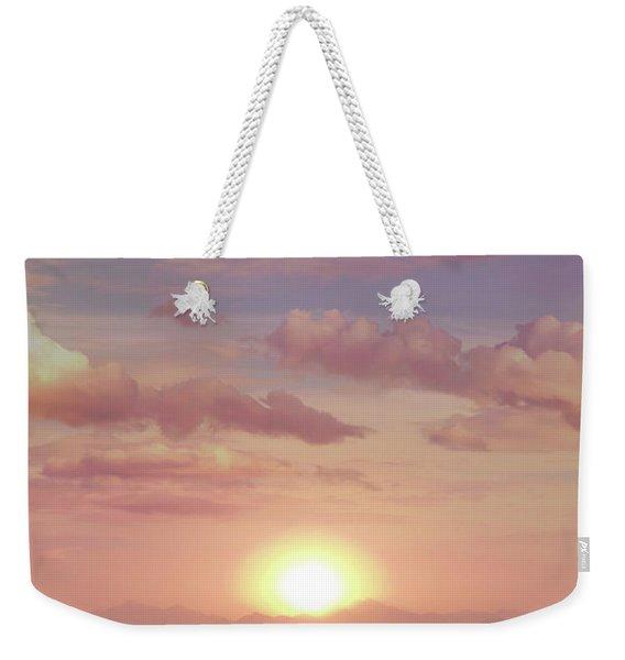 A Beautiful Morning Weekender Tote Bag