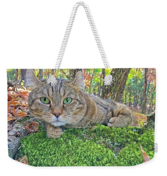 A Bed Of Moss Weekender Tote Bag