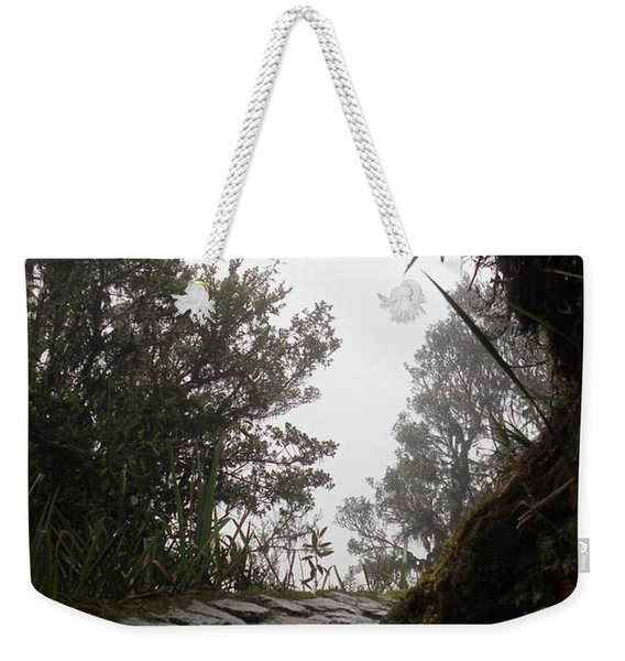 A Bend In The Path Weekender Tote Bag