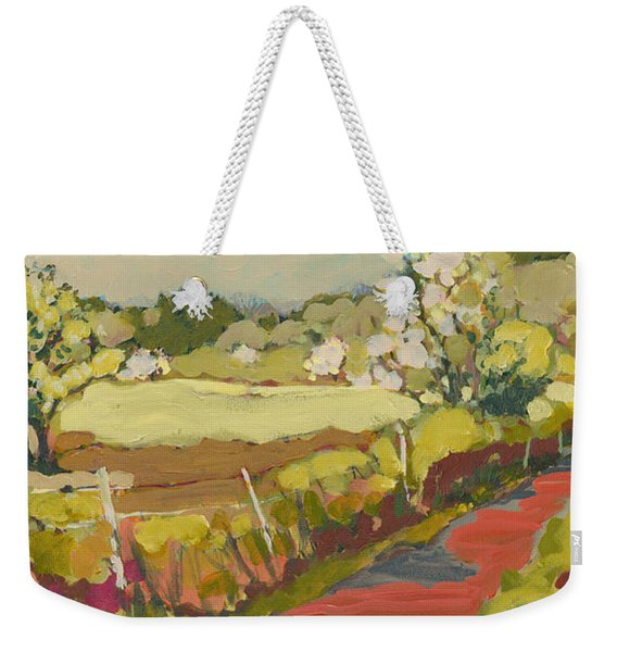 A Bend In The Road Weekender Tote Bag