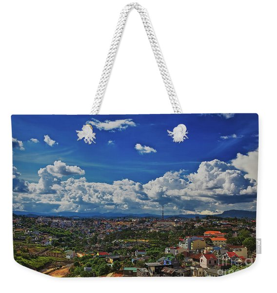 Weekender Tote Bag featuring the photograph A Bit Of Disneyland In Dalat, Vietnam, Southeast Asia by Sam Antonio Photography