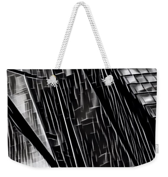 A Black-and-white Cookie Weekender Tote Bag