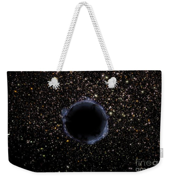 A Black Hole In A Globular Cluster Weekender Tote Bag