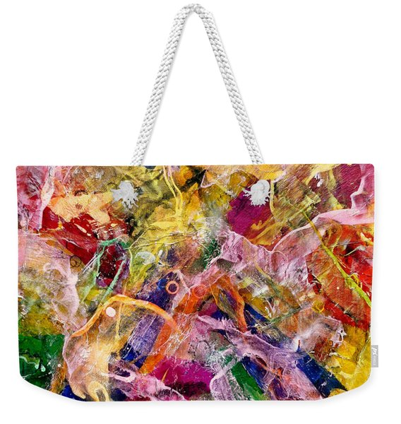 A Body Of Work - Hats Off To Hans Weekender Tote Bag